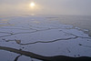 The sun tries to break through the fog on the icy waters of Lilla Värtan bay in Stockholm (Franz Airiman) Tags: lillavärtan lillavärtanbay isflak icefloe dis dimma fog haze ice is winter vinter minusgrader bay fjärd stockholm sweden scandinavia