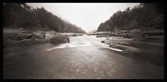 ONDU on the Narrows (DRCPhoto) Tags: ondu pinhole lenslessphotography kodakbw400cn 120film cheatriver westvirginia