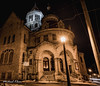 Asbury United Methodist Church (makleen) Tags: watertown jeffersoncounty newyork building night nightphotography lights streetlight streetlamp church asburyunitedmethodistchurch unitedmethodistchurch methodist