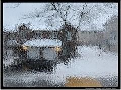 Blurry Vision - Daily Photo by Robson Smith  www.drsmithfoto.ca  @drsmithfoto  . . . . . #drsmithfoto #Blurry #vision #blurryvision #rain #gloomy #gloomysunday #sky #precipitation #noevaporation #ottawa #urban #subzero #freezing #winter #storm #winterstor (DRSmithFoto) Tags: winterstorm blurry winter ice drsmithfoto gloomysunday precipitation windowpain gloomy subzero ottawa icy sky rain blind seasons storm blizzard snowstorm water blurryvision windowstain vision noevaporation urban freezing icestorm snow window notsummer