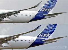 Airbus A350-941 XWB F-WXWB [New Winglets vs Old Comparison] (MSN 1, First A350 Prototype) Airbus Industrie  | Toulouse Blagnac TLS/LFBO (Horatiu Goanta Aviation Photography) Tags: airbus a350 a350xwb xwb extrawidebody widebody cfk carbonfibre sharklet winglet winglets blendedwinglet blendedwinglets airliner a350900 a350941 a359 airbusindustrie aib fwxwb msn1 1stprototype prototype a3501stprototype airbusa3501stprototype a350prototype airbusprototype rollsroyce trent rollsroycetrent rrtrent trentxwb rollsroycetrentxwb rrtrentxwb rollsroycetrentxwb84 trentxwb84 turbofan civilaviation commercialaviation aerospace airplane plane aviation aircraft flight wings jet passenger passengeraircraft passengerjet jetairliner jetliner jetengine turbine turbojet highbypassturbofan bypassturbojet airbustestflight airbusfactorytestflight factorytestflight testflight toulouse blagnac toulouseblagnac tls lfbo tlslfbo airport flughafen transport goanta horatiugoanta toulouseblagnacairport toulouseairport a350newwinglet
