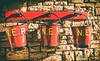 Bucket list (Blaydon52C) Tags: beamish museum red bucket stone ner station