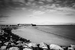 Fort Perch Rock (The Crewe Chronicler) Tags: newbrighton fortperchrock perchrock longexposure nd10 neutraldensity filter mon monochrome blackandwhite canon canon7dmarkii wirral thewirral mersey merseyside
