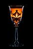 Das Alte Glas (TS Lichtreise) Tags: fuji xt2 60mm black schwarz light candle kerze glas kante edge orange