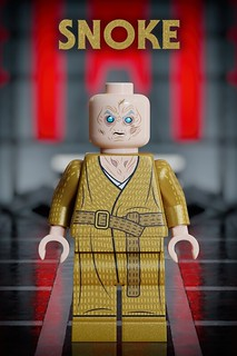Supreme Leader Snoke - 3D Custom Lego Star Wars Concept