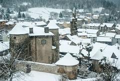 Seix (Ariège/Pyrénées) (PierreG_09) Tags: seix ariège pyrénées pirineos couserans village hiver neige château pouech