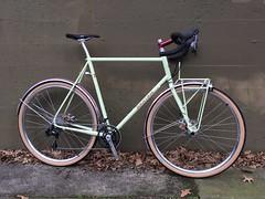 700c Commuter / Light Tourer (Bantam Bicycle Works) Tags: bantam bicycle works custom bike cycle touring commuter cycletouring biketouring rack fenders integrated 700c