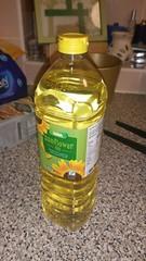 Sunflower oil (Carol B London) Tags: oil sunflower sunfloweroil asda bottle plasticbottle
