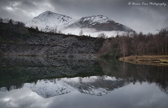 The Ballachulish Slate Quarry (.Brian Kerr Photography.) Tags: ballachulish glencoe scotland scottishlandscapes scottish scotspirit scottishlandscape slatequarry reflections winter weather snow mist slate quarry outdoor outdoorphotography opoty onlandscape nature naturallandscape natural briankerrphotography briankerrphoto formatthitech firecrest scottishhighlands birchtree birches landscape mountain sky tree