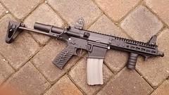 VSeven SBR with Stock Extended (TheRealDealJLG) Tags: vseven ar15 gun sbr nfa