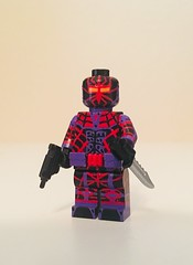 LockVerse: Black Spider (Jake Vitlock) Tags: lego custom black spider lockverse suicidesquad dc batman