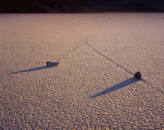 X Trails (AlexBurke) Tags: california death valley racetrack rocks playa desert shadow film ishootfilm 4x5 large format provia fuji