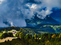 JOCHGRIMM WEISSHORN - Südtirol (PHOTOGRAPHY Toporowski) Tags: sunrise landschaft clouds contrast landscape existinglight licht light sonnenaufgang eschweiler nrwnordrheinwestfalen deutschland deu