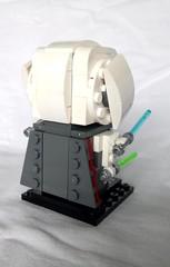 General Grievous (free instructions available) (tomvanhaelen) Tags: lego star wars custom brickheadz general grievous