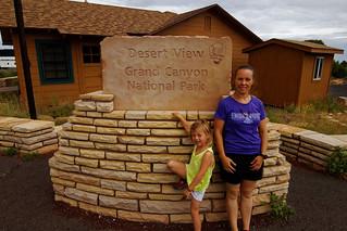Grand Canyon National Park desert view drive