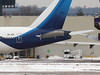 Tail damage to Kuwait 777 9K-AOC sustained in a collision with China Southern 777 B-7185 (cv880m) Tags: newyork kennedy jfk kjfk aviation airliner airline boeing aircraft airplane jetliner snow winter 9kaoc 777 773 777300 777369er kuwait kuwaitairways collision wings tail damage aog
