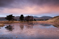 Kelly Hall Tarn (tony johnston Images) Tags: kellyhalltarn lake lakedistrict lakeland mist mountains outdoor places tonyjohnston winter coniston torver clouds tarn