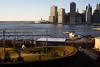 Uplands (dtanist) Tags: nyc newyork newyorkcity new york city sony a7 konica hexanon 40mm brooklyn bridge park pier 5 uplands manhattan view skyline harbor