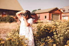 (KieraJo) Tags: 50mm 14 canonef50mmf14usm bokeh lens canon 5d mark 3 iii 5d3 fullframe dslr utah logan cache valley photographer photographers beautiful island park portrait tree trees wood woods pines pine idaho irl woman candid happy wanderlust travel blur background cabin retro vintage feel edit