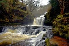 Sgwd Isaf Clun Gwyn (JessopSmythe) Tags: waterfall country breconbeacons brecon beacons national park mellte hepste 4 waterfalls walk river wales cymru
