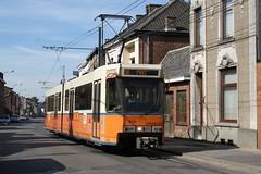 2010-09-20, TEC, Anderlues, Rue de la Station (Fototak) Tags: tram strassenbahn tec charleroi bn belgium ligne88 6128