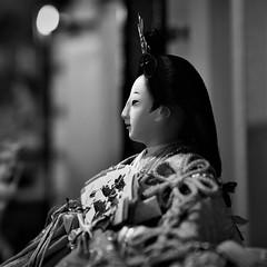 ✪犬山城下町のお雛様 -愛知県犬山市- (m-miki) Tags: nikon d610 japan 愛知 犬山 城下町 雛人形 ひな祭り 日本人形 伝統 桃の節句 白黒 aichi inuyama castle town hina dolls matsuri japanese doll tradition peachs festival black white