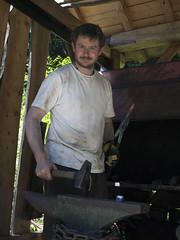 the viking-blacksmith (gormjarl) Tags: bronseplassen høvåg lillesand kristiansand austagder museum vikingmarked viking vikingreenactment