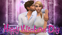 ♥ happy valentines day ♥ (flubs ♥) Tags: text writing secondlife flickr sims4 thesims4 couple love avatar portrait