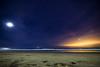 Moonlit Beach (PhotoJacko - Jackie Novak) Tags: sandiego lajolla beach moonlight moon nightsky seascape landscape nature california nightscape longexposure ocean waves lightpollution canon6d tokina 1628mm f28