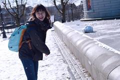 DSC_0156 (kevin0203928) Tags: nikon photography d5300 snow snowball seattle capitolhill calandersonpark girl smile model moment sun sunlight cherish thursday