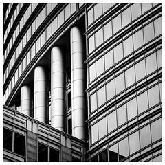_DSC4420-3 (gillesporlier) Tags: bw blackandwhite noiretblanc nikon d750 ville city immeuble contrast nb line symetrie