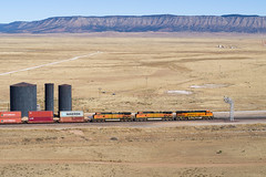 BNSF 7144 East at Pica, AZ (thechief500) Tags: bnsf railroads seligmansubdivision pica az usa us arizona