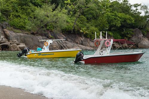 Taxiboot Anse Major Mahe Seychellen