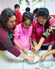 Christmas Open Day 33 (C & R Driver-Burgess) Tags: boys girls preteen young teen children kids winter traditions teaching programme baking cooking playing mixing biscuit cookie dough bowls busy fun singing song snoopys christmas