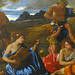 POUSSIN Nicolas,1627-28 - Bacchanale à la Joueuse de Guitare, La Grande Bacchanale (Louvre) - Detail 073
