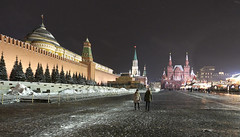 Red Square, the Great Russia (Karl Le Gros) Tags: redsquare 2018 russia moscow xaviervonerlach leninsmausoleum nightscape night winter historical