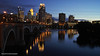 St. Anthony Main (Lizzy Lentsch Photography) Tags: stanthonymain park minneapolis minnesota water river mississippiriver mississippi city cityscape lights citylights night clouds