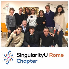 SingularityU Rome Chapter - Dinner