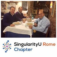 SingularityU Rome Chapter - Dinner (6)