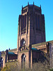 Liverpool Cathedral, England (teresue) Tags: 2017 uk england unitedkingdom liverpool merseyside albertdock salthousedock liverpoolcathedral gothic cathedral stjamesmount churchofengland