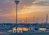 Yas Viceroy marina at sunrise (Jhopne) Tags: abudhabi canonef2470mmf28lusm feb18 uae canoneos5dmarkii sunrise sky sun skyline