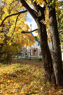Tsar's porch. Autumn. 1