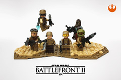 Resistance Troopers (darth85) Tags: star wars starwars troopers resistance specialist enforcer officer assault heavy jakku crait lego minifigure