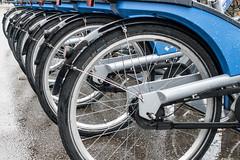 rent a bike (Dingens-Kirchen) Tags: 100bicycles münchen munich mvv blau blue fahrrad mietrad