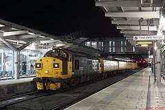 37025 Derby 20-01-18 (benwheeler) Tags: 37025 inverness tmd derby rtc 3q28 neville hill colas rail network utu1 dbso 9714