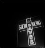 Be Prepared (argentography) Tags: rolleiflex 622 oldstandard ilford delta 3200 peoria illinois midwest neon jesus