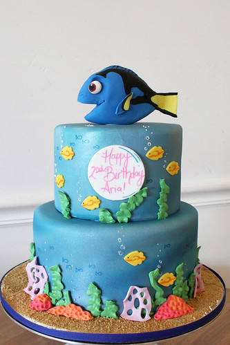 Finding Dory Underwater Birthday Cake