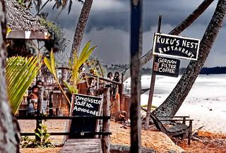 Before the storm at Bentota beach