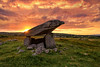 """Kilclooney Dolmen"" – Donegal's Ancient Portal Tomb (Gareth Wray - 10 Million Views, Thank You) Tags: megalithic portal tomb kilclooney county donegal portnoo ardara ancient wild atlantic way religion pagan druid druids stone circle standing stones worship monument ireland landscape tourist tourism site visit scenic landmark blue sky summer country side countryside nikon d810 nikkor 1424mm wide lens hdr gareth wray photography irish eire rock rocks granite field mythical mystical day horizon historic famous attraction rituals photographer slabs clooney naran dawros vacation holiday europe preceltic"