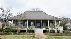 Raised cottage with a lovely porch - Madisonville, Louisiana - Explore (Monceau) Tags: madisonville louisiana raised cottage southlouisiana porch columns stairs explore explored architecture louisianaarchitecture home house southern frenchcreole creole
